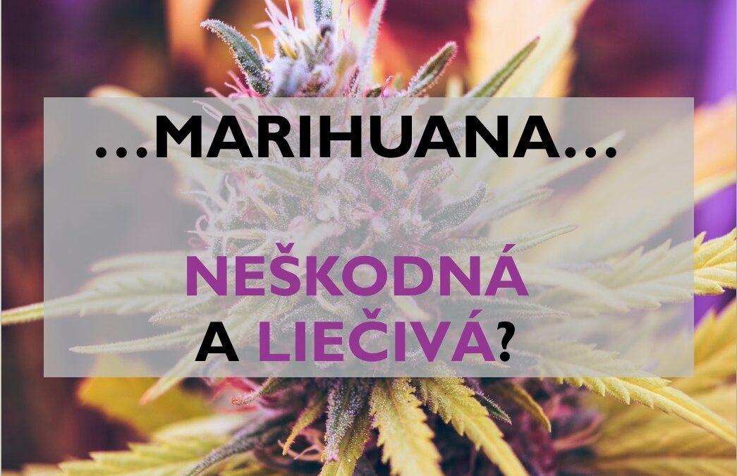 Marihuana – neškodná a liečivá?